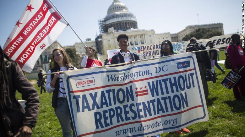 Recent news: DC statehood push