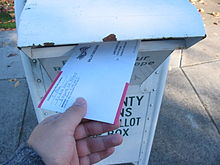 Oregon vote by mail