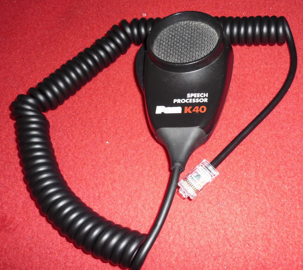 medium resolution of k40 speech processor 1979 nostalgia microphones ham cb k40 mic wiring diagram