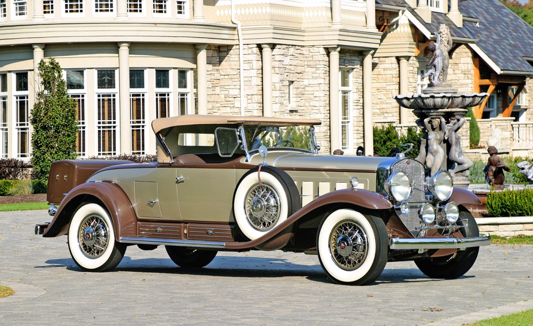 1930 V16 Cadillac Rumbleseat Roadster