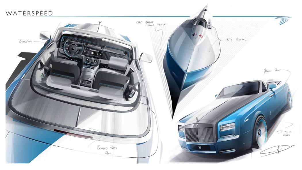 LXRY Mag Rolls-Royce Waterspeed