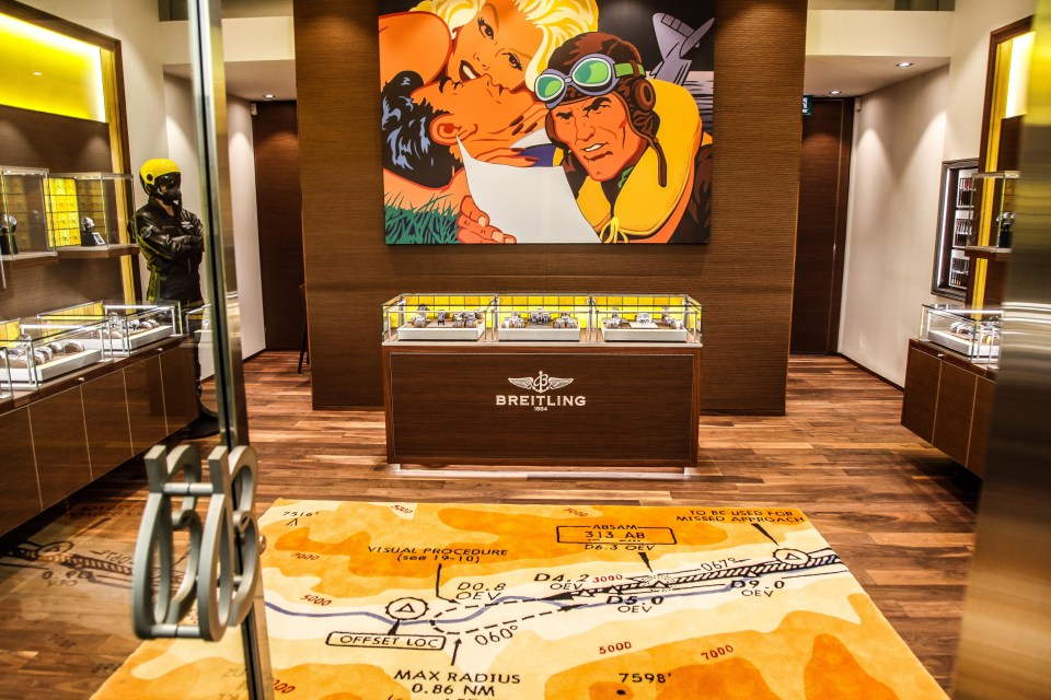 breitling store opening 15