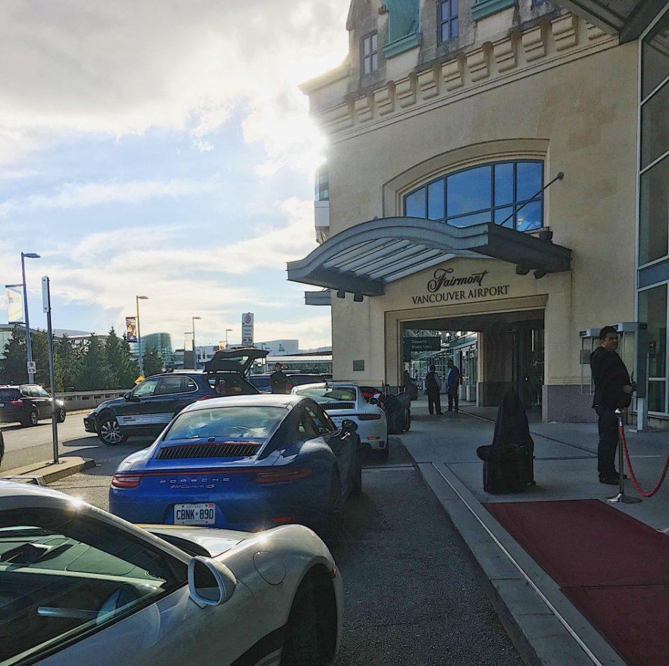 fairmont airport hotel vancouver exterior