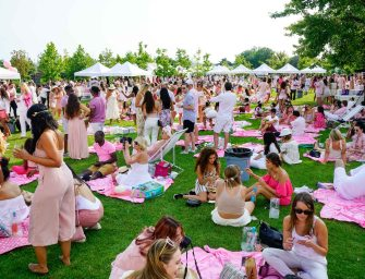 The Rosé Picnic Brings A Sea of Pink and White To Toronto