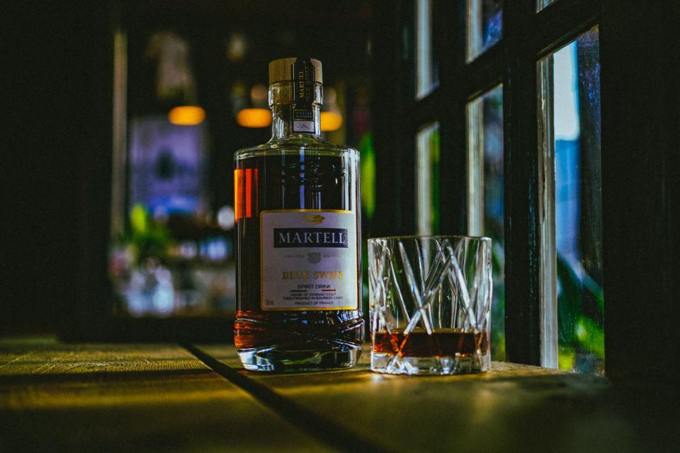 martell blue swift cognac 7