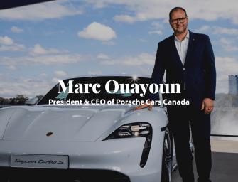 LXRY Q&A: Marc Ouayoun, President & CEO of Porsche Cars Canada