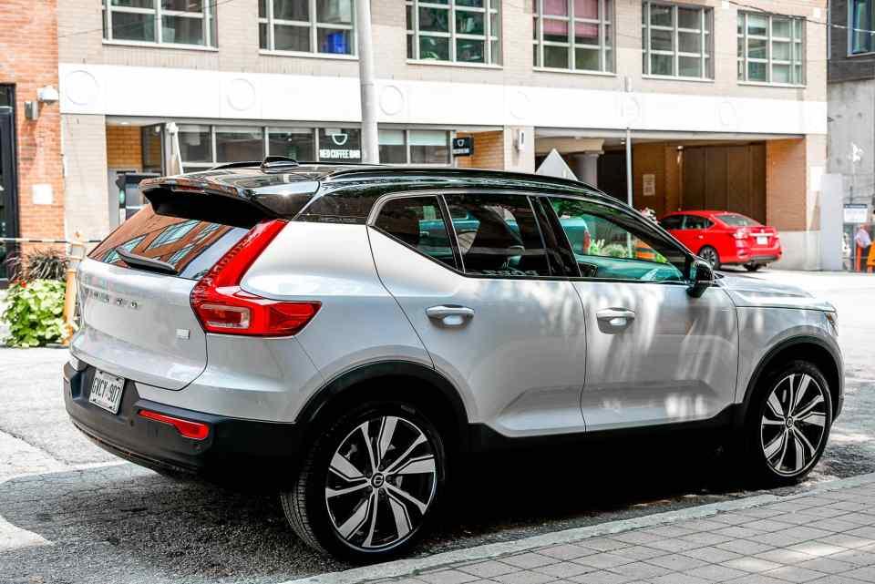 2021 Volvo XC40 Recharge, Toronto, Ontario, EV, Electric Vehicle, Electric SUV