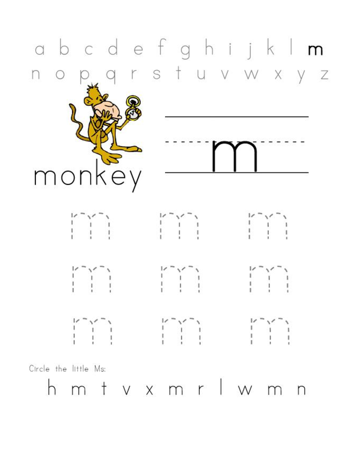 Missing Alphabet Letters Worksheet Free Printable