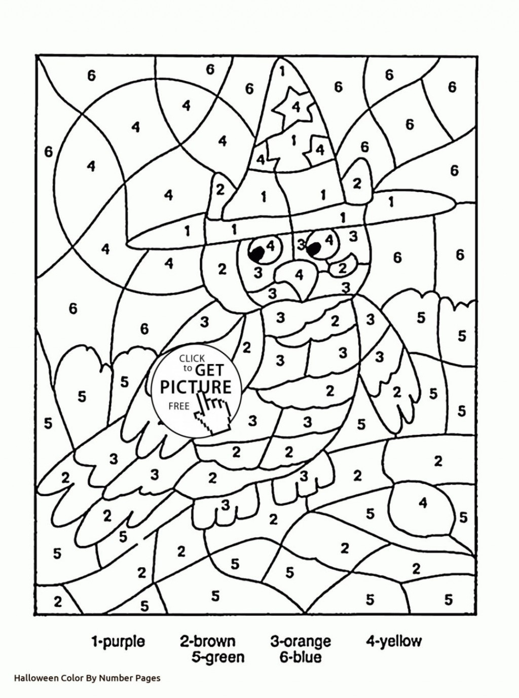 Coloring Pages Color Number Printableg Pages C0lor Math