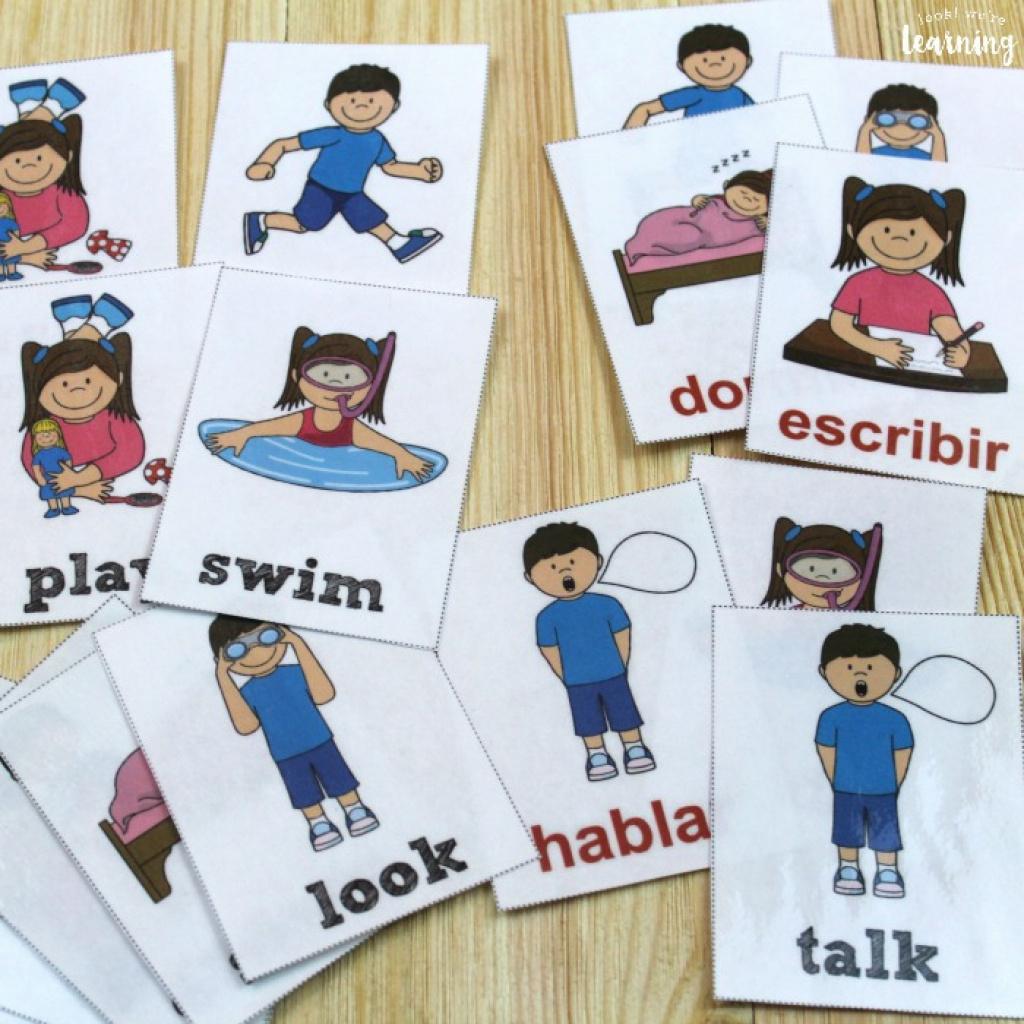 Free Printable Spanish Verb Worksheets