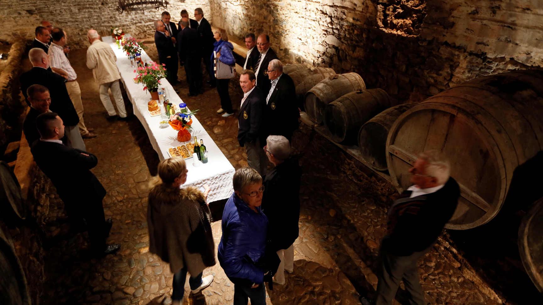La cave vinicole