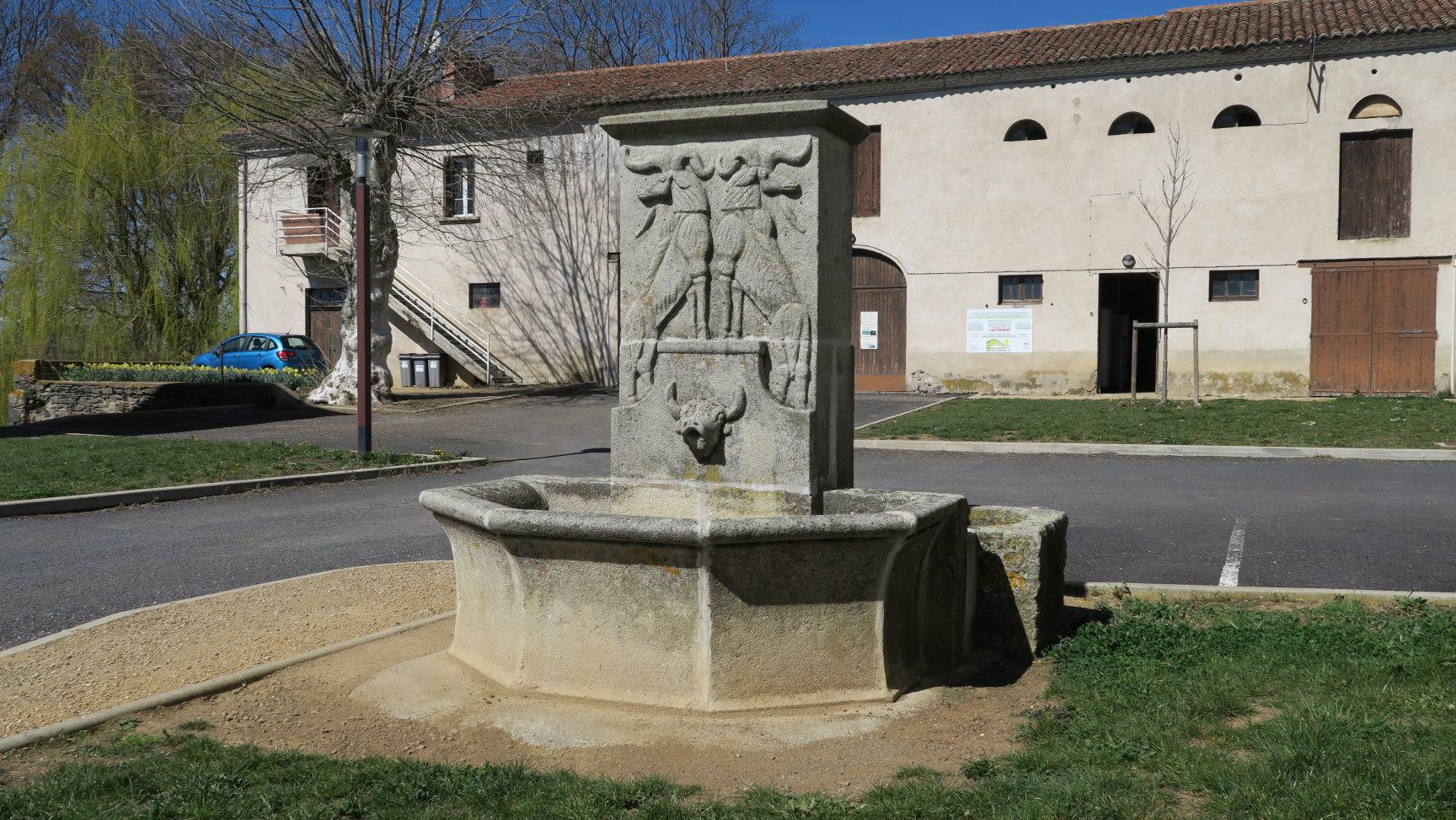 """La """"bonne fontaine"""" de Bonnefont"""