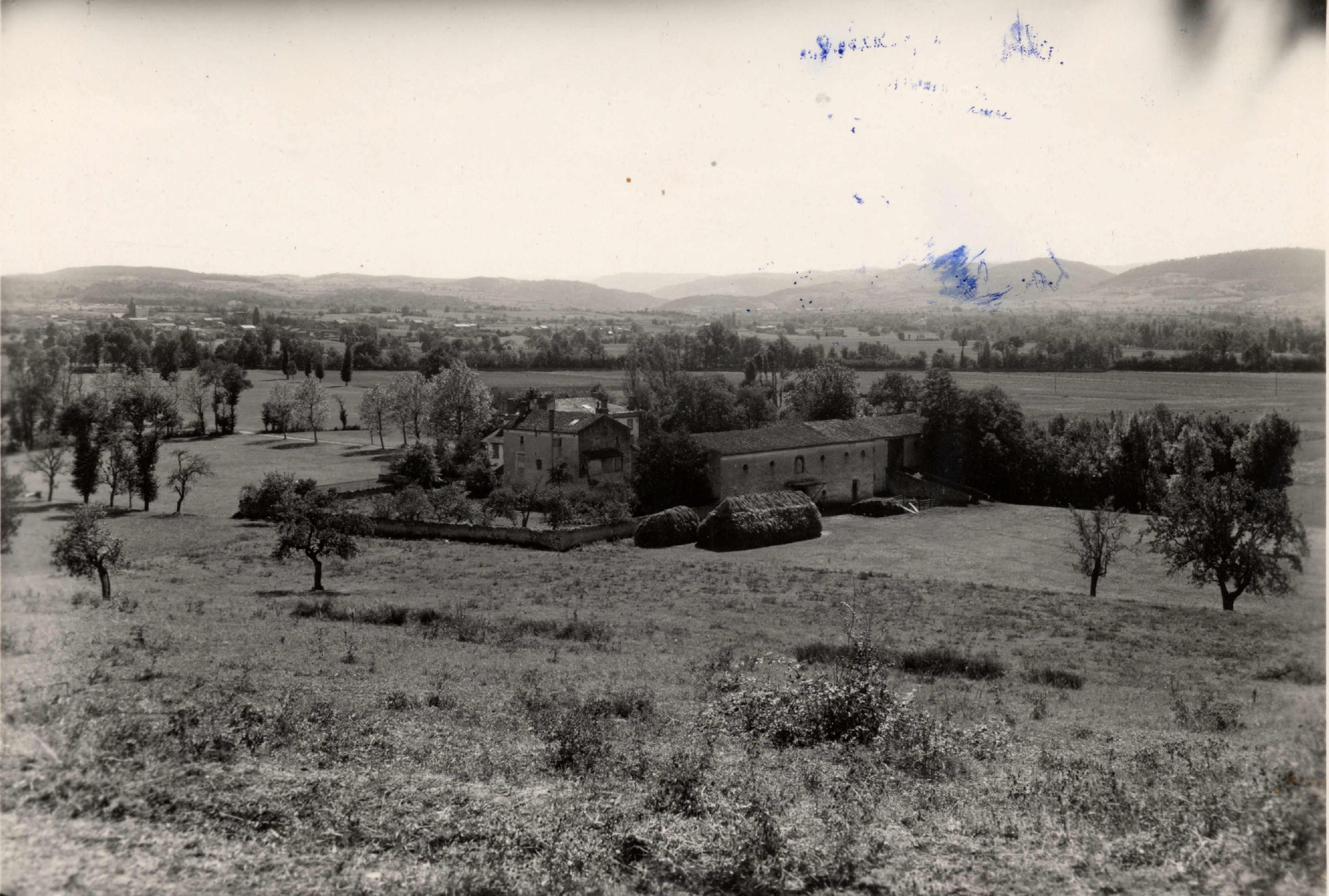 Le site de Bonnefont (1951)