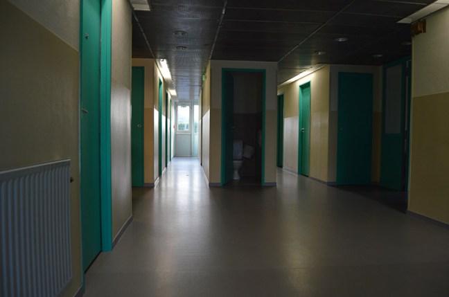 Intérieur du bâtiment de l'internat du lycée La Fayette, à Clermont-Ferrand