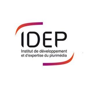 Logo de l'institut de développement et d'expertise du plurimédia partenaire du Pôle Plurimédia du lycée La Fayette de Clermont-Ferrand