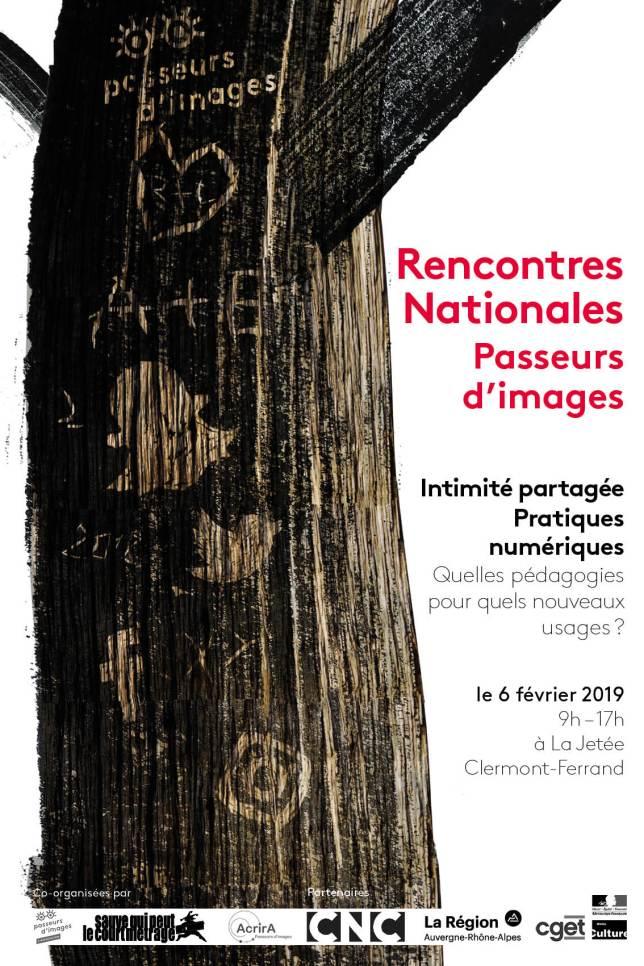 """Affiche """"Passeurs d'images"""""""