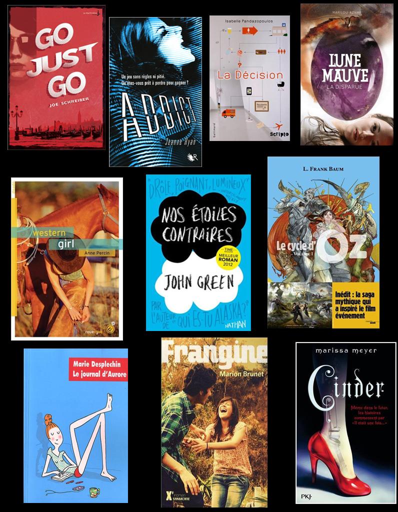 Livres Le Top Ten Special Ados Lycee Des Metiers La Morlette