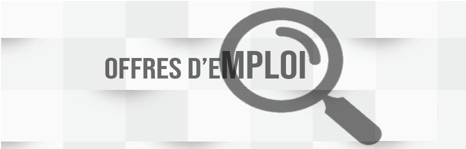 Offres d'emploi du 13 juin 2019