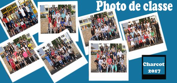 Photos de classe 2017
