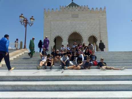 Rabat - Tombeau de Mohamed V