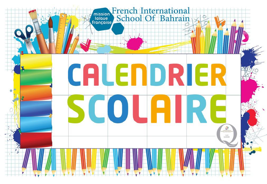 Calendrier 2020   2021   French International School of Bahrain