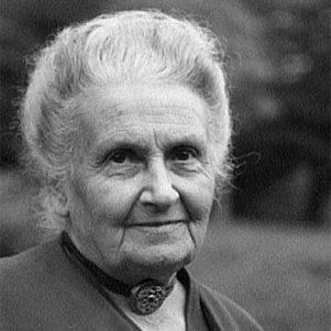 Portait de Maria Montessori