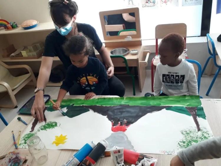 école athena maternelle montessori Clichy