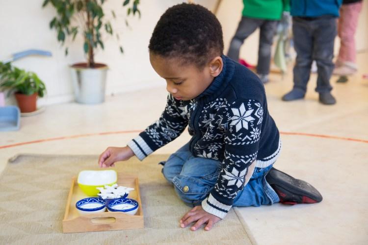 Pédagogie montessori en maternelle