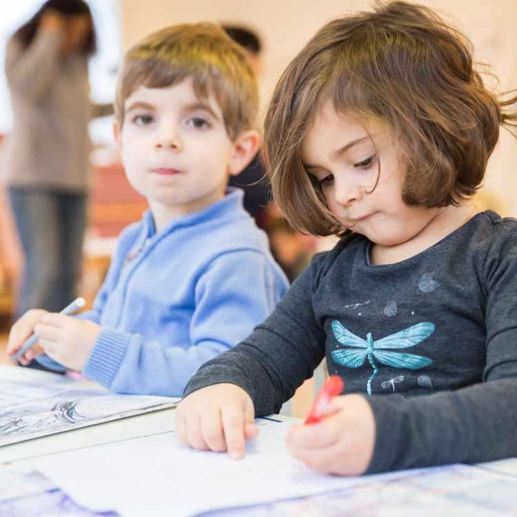les horaires en maternelle - école montessori