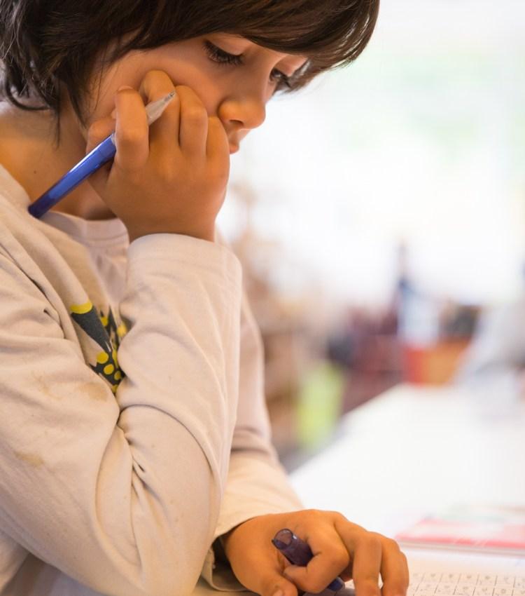 Classe de primaire Montessori Athéna de Bailly