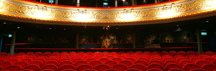 Auditorium  The Lyceum  Royal Lyceum Theatre Edinburgh