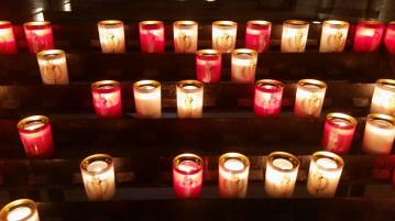 Notre-Dame Cathedral Candles