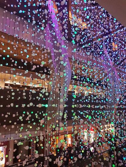 Chatswood Vivid Station Lights