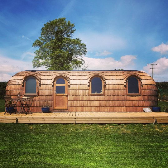 The Pasty glamping cabin Cornwall
