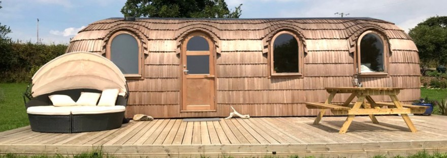 The Pasty luxury glamping cabins cornwall