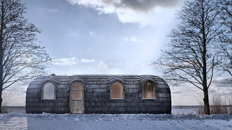 model 4 hut