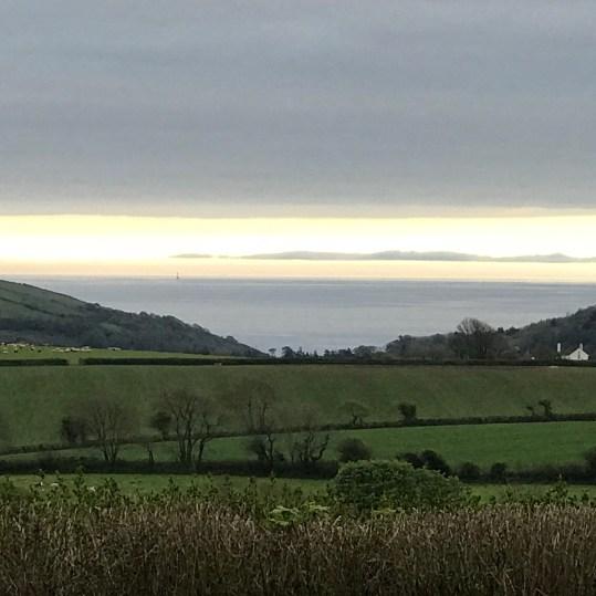 more sea views - a silvery sea