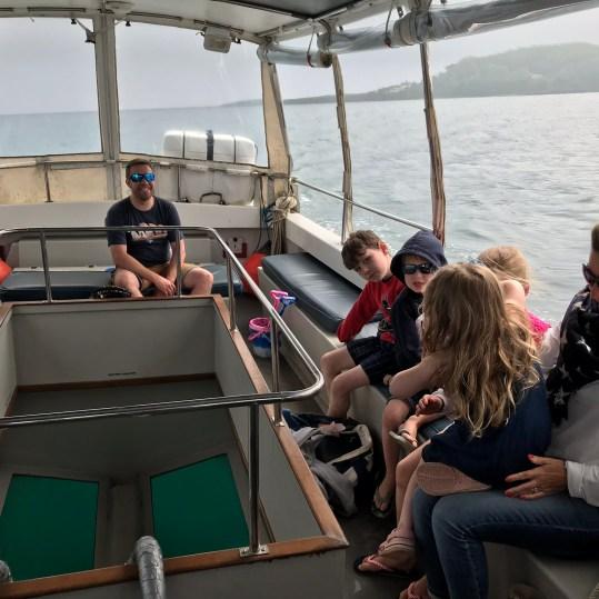 Boat trip in Looe