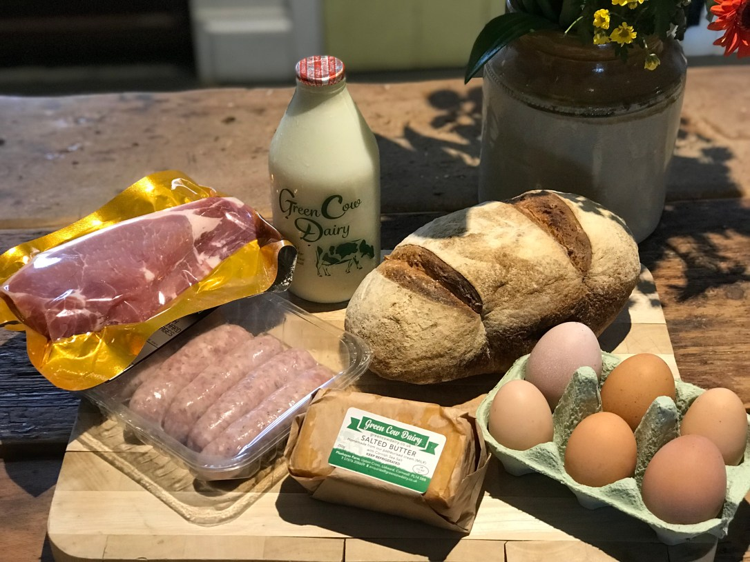 Cornish breakfast hamper
