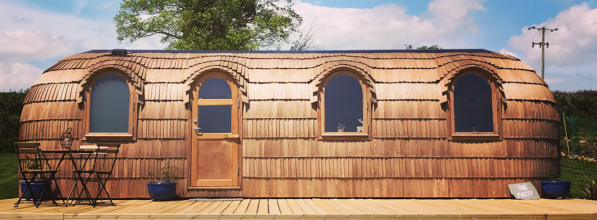 The Pasty glamping Cornwall