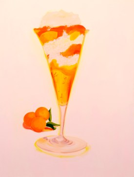 """Ambrosia Salad,"" oil on panel, 2012"
