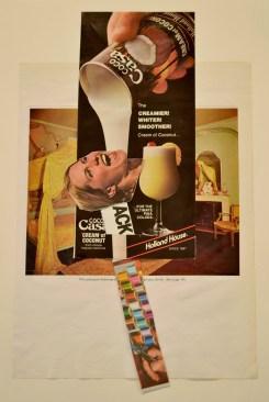 """""""Cream,"""" Mixed media, 2013"""