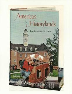 """Historylands,"" collage, 2015"
