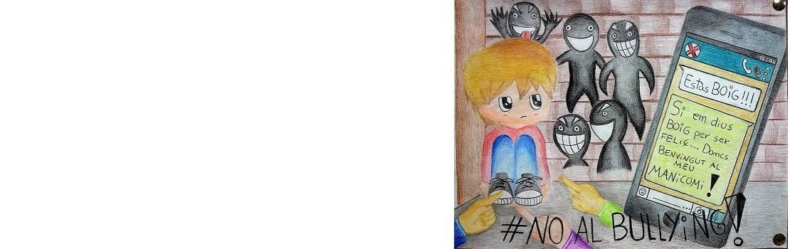 carteles contra el bullying y el ciberbullying