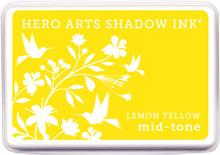 Lemon Yellow Shadow Ink