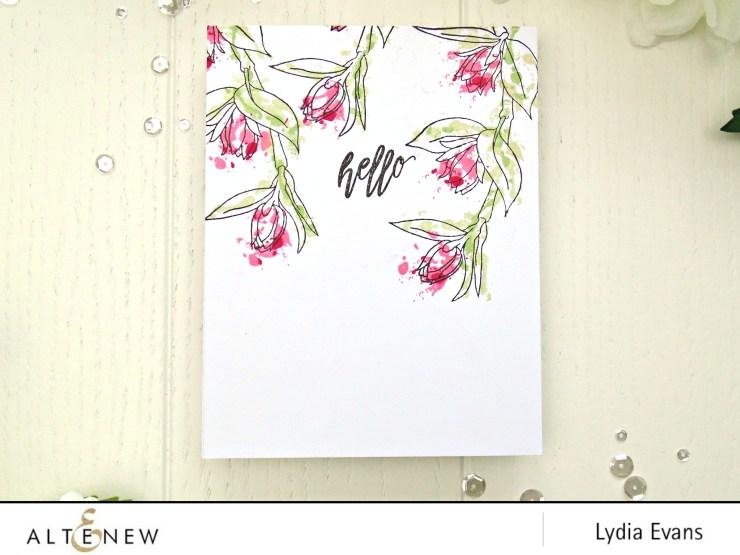 altenew floral sprig