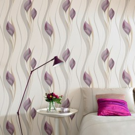 Plum removable wallpaper