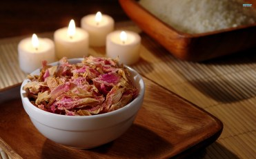 potpourri and candles