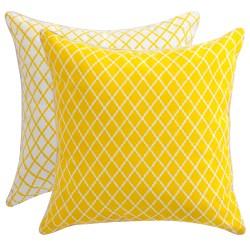 yellow cusions