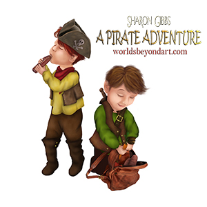 Sharon Gibbs' The Magical Adventures of These Boys Three: a Pirate Adventure